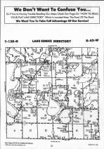 Lake Eunice T138N-R42W, Becker County 1992 Published by Farm and Home Publishers, LTD
